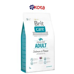 BRIT CARE LIBRE DE GRANO ADULT SALMON 12KG