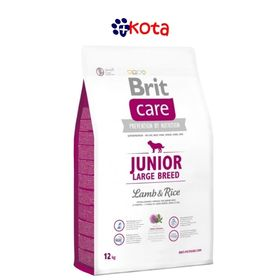 BRIT CARE JUNIOR CORDERO Y ARROZ 12KG.