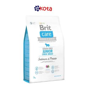 BRIT CARE LIBRE DE GRANO JUNIOR LARGE BREED  12KG.
