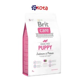 BRIT CARE LIBRE DE GRANO PUPPY ALL BREED   12 KG.