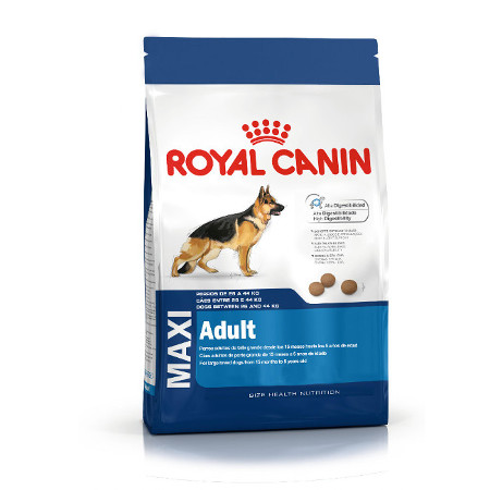 ROYAL CANIN MAXI ADULTO 15 KG.