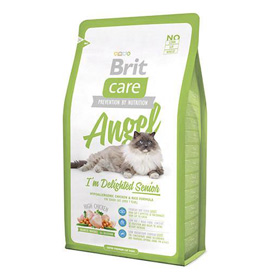 BRIT CARE GATO SENIOR ANGEL 7 KG.