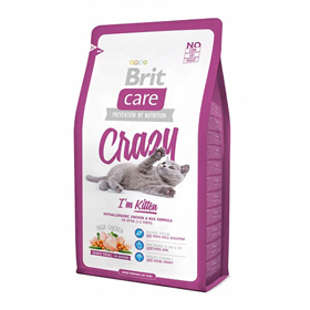 BRIT CARE KITTEN CRAZY 7 KG.
